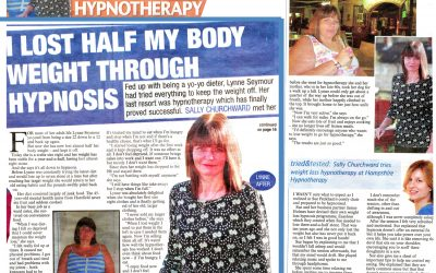 I lost 8 stone thanks to hypnotherapy