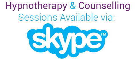 Hypnotherapy & Counselling sessions on Skype